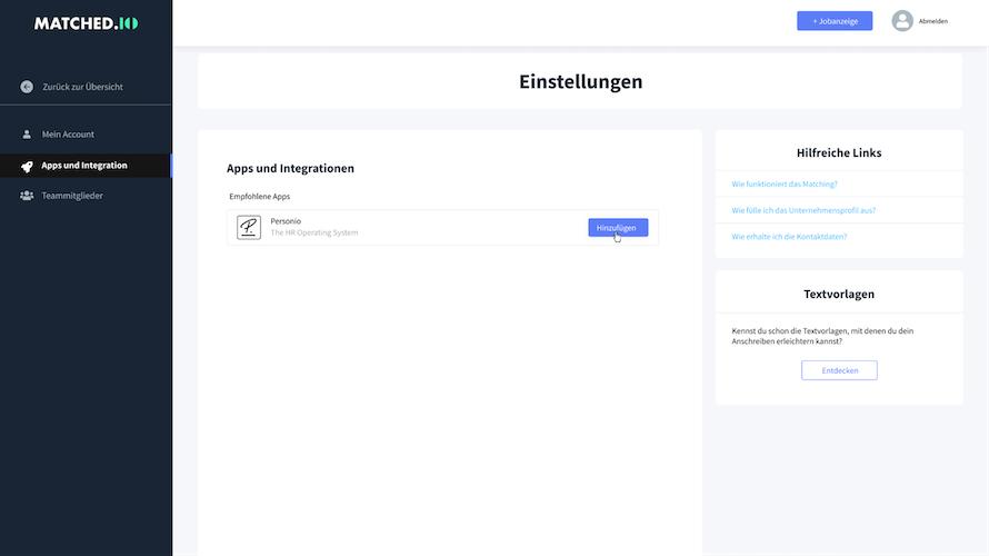 matchedio-settings-integrations-add_de.png