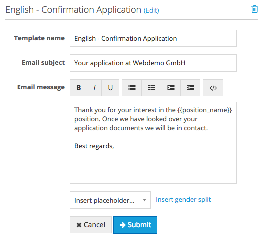 How Do I Create An Automated E Mail Confirmation Of Receipt Of